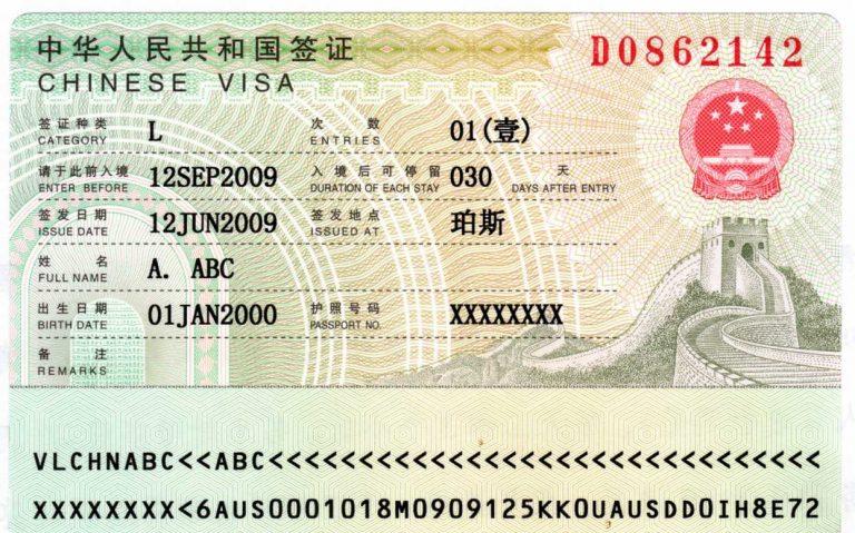 Do I need A Visa To Go To China