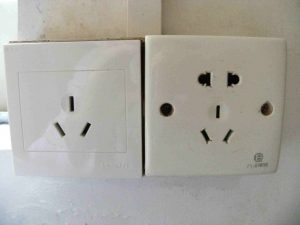 power socket in china