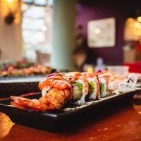 sushi dish in hong kong