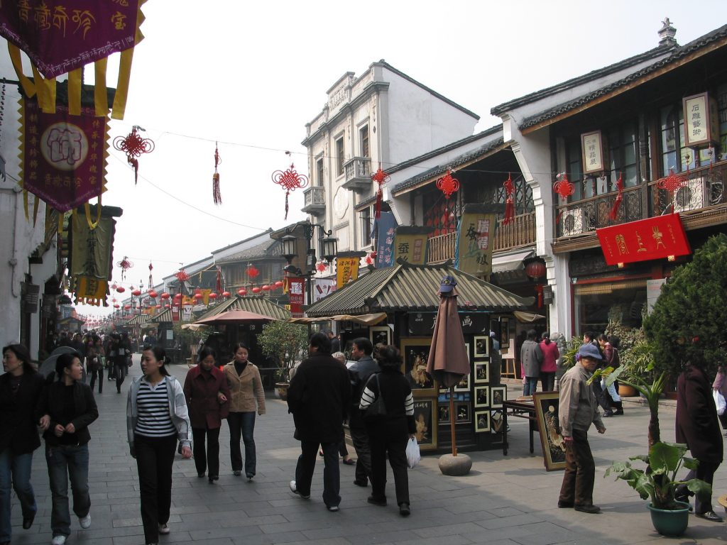 old hangzhou street